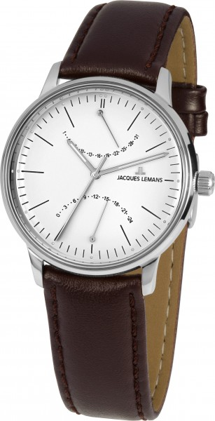 Jacques Lemans Retro Classic Date GMT Quartz N-218B