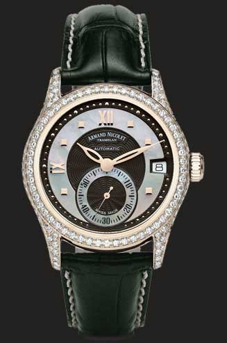 Armand Nicolet M03 Small Seconds & Date 7155V-NN-P915NR8