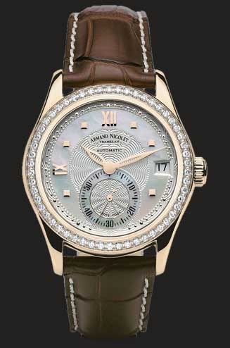 Armand Nicolet M03 Small Seconds & Date 7155D-AN-P915MR8