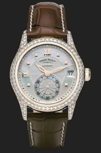 Armand Nicolet M03 Small Seconds & Date 7155V-AN-P915MR8
