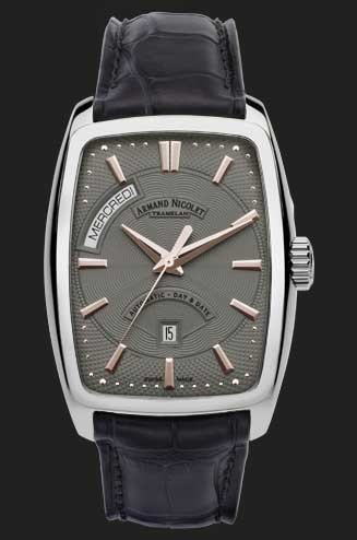 Armand Nicolet TM7 Day-Date Automatic 9630A-GS-P968GRT3