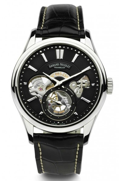 Armand Nicolet L08 Small Seconds Limited Edition 9620A-NR-P713MR2