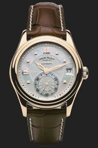 Armand Nicolet M03 Small Seconds & Date 7155A-AN-P915MR8