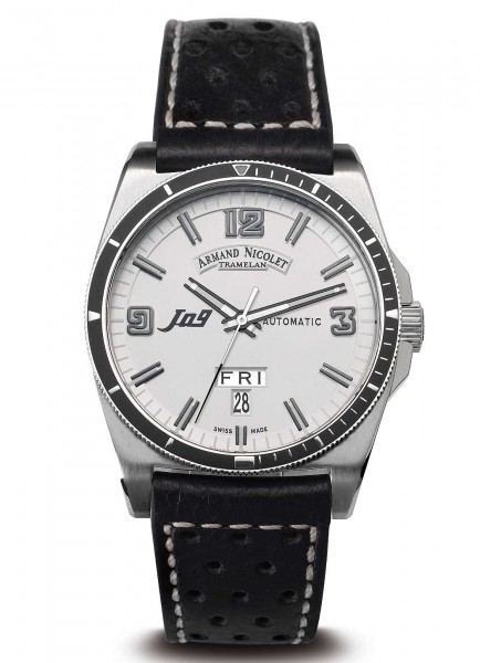 Armand Nicolet J09 Day&Date Automatic 9660A-BC-P660NR2