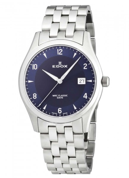 Edox WRC Classic Date Mens Watch 70171 3 BUIN