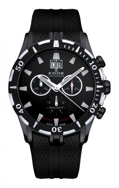 Edox Grand Ocean Chronodiver 10022 37n Nin