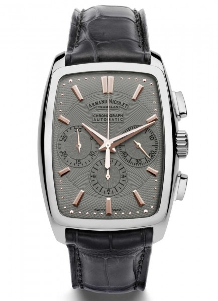 Armand Nicolet TM7 Chronograph Automatic 9634A-GS-P968GR3