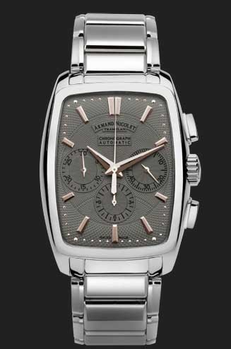 Armand Nicolet TM7 Chronograph Automatic 9634A-GS-M9630