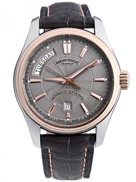 Armand Nicolet M02 Day Date Automatic 8641A-GR-P914GR2