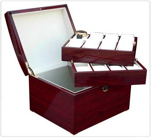 Watchbox for 16 Watches / KIRSCH - 7610