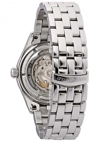 Armand Nicolet M02 Day & Date AutomaticWatch 9141A-NR-M9140