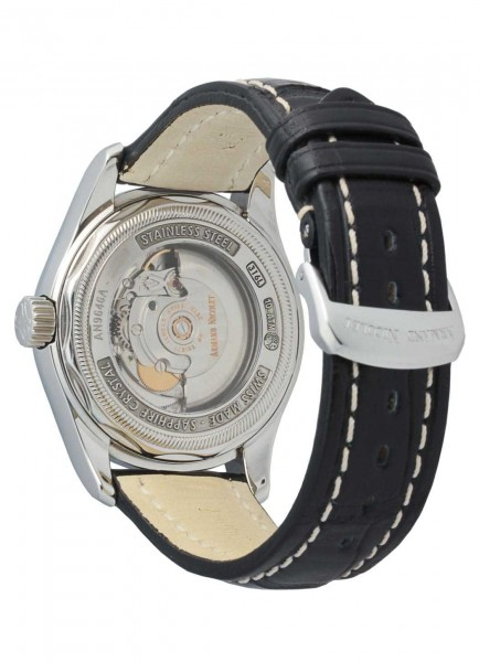 Armand Nicolet M02 Big Date & Small Seconds 9646A-NR-P914NR2