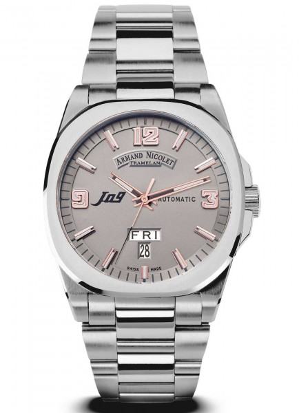 Armand Nicolet J09 Day Date Automatic 9650A-GS-M9650