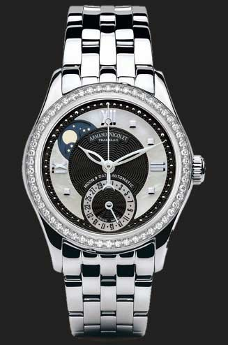 Armand Nicolet M03 Moonphase & Date 9151D-NN-M9150