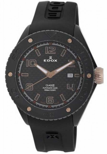 Edox Chronoffshore-1 Automatic Date Mens Watch 80078 357RN NIR2