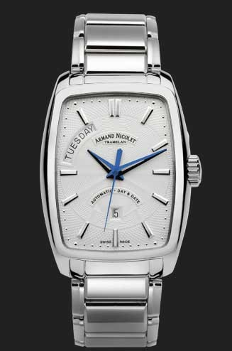 Armand Nicolet TM7 Day-Date Automatic 9630A-AG-M9630