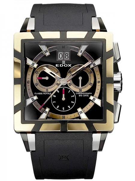 Edox Classe Royale Chronograph 10013 357RN NIR