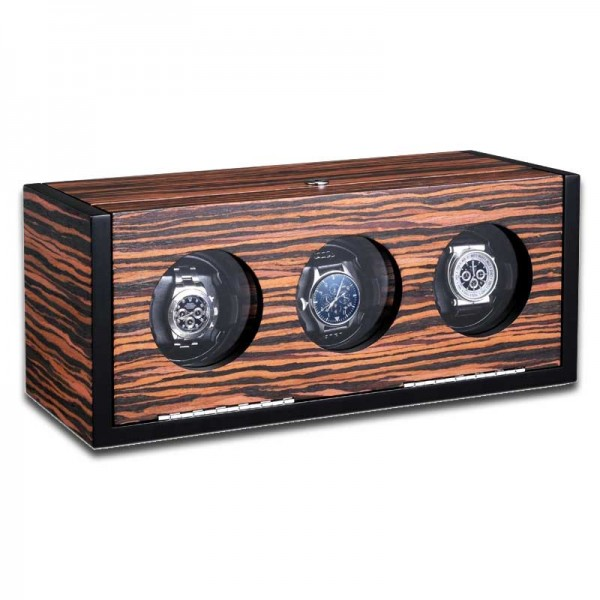 Watchwinder for 3 Watches UBO2045 - Makassar