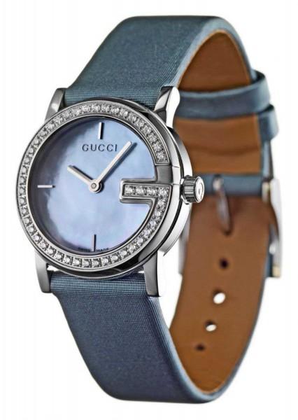 Gucci 'G' Womens Watch with Diamonds YA101508