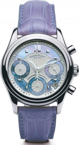 Armand Nicolet M03 Automatic Chronograph 9154A-AK-P915VL8