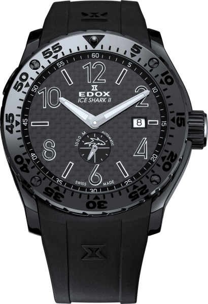 Edox Chronoffshore-1 Ice Shark II Limited Edition Automatic 96001 37N NIN3