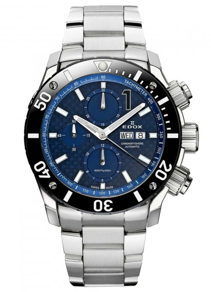 Edox Chronoffshore-1 Automatic Chronograph 01115 3 BUIN