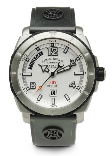 Armand Nicolet S05 Day-Date Automatic 9610A-AG-G9610