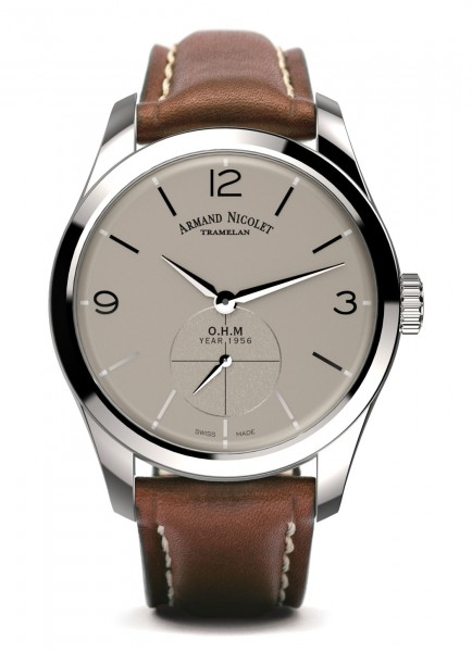 Armand Nicolet LB6 Small Seconds Limited Edition A134AAA-GR-P140MR2