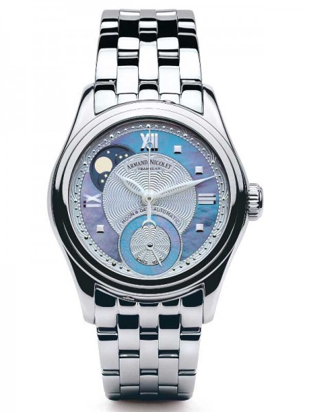 Armand Nicolet M03 Moonphase & Date 9151A-AK-M9150