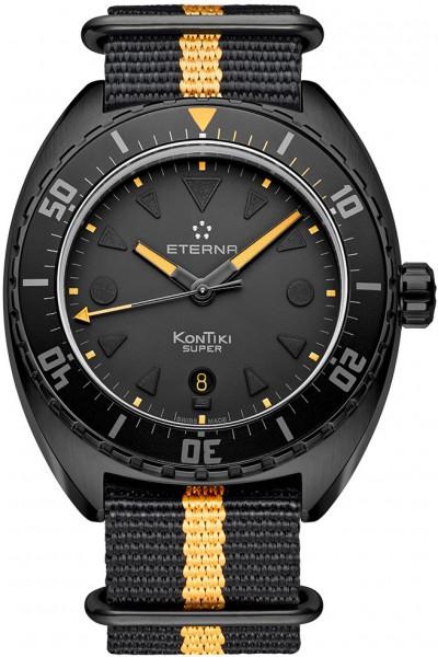 Eterna Super KonTiki Black -Limited Edition- 1273.43.41.1365