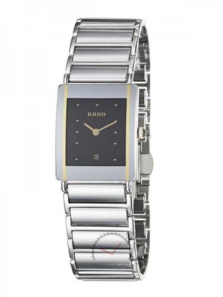 Rado Integral Womens Watch Stainless Steel/Ceramic with Date R20487182