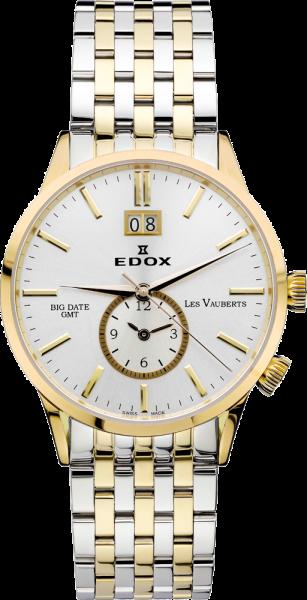Edox Les Vauberts GMT Big Date 62004 357 AID