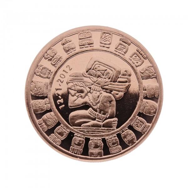 1 ounce copper coin