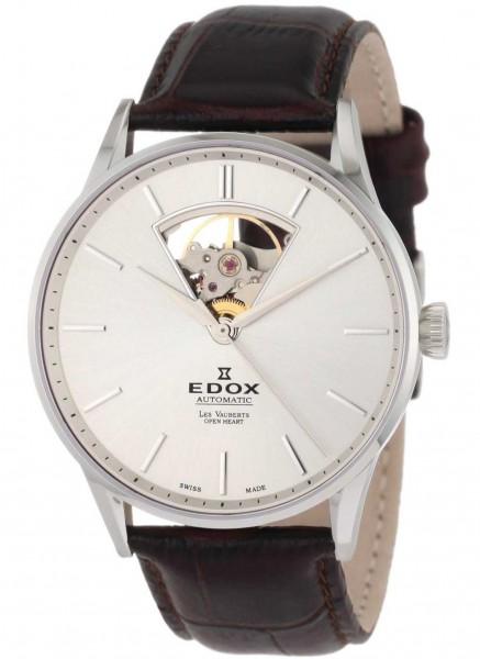 Edox Les Vauberts Open Heart Automatic 85010 3B AIN