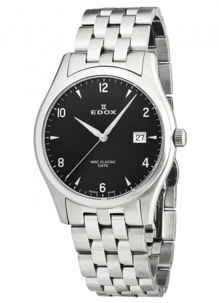 Edox WRC Classic Date Mens Watch 70171 3 NIN