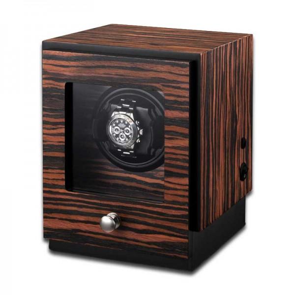 Watchwinder for 1 Watch UBO2041 - Makassarholz