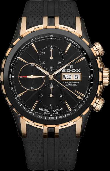 Edox Grand Ocean Automatic Chronograph 01113 357RN NIR