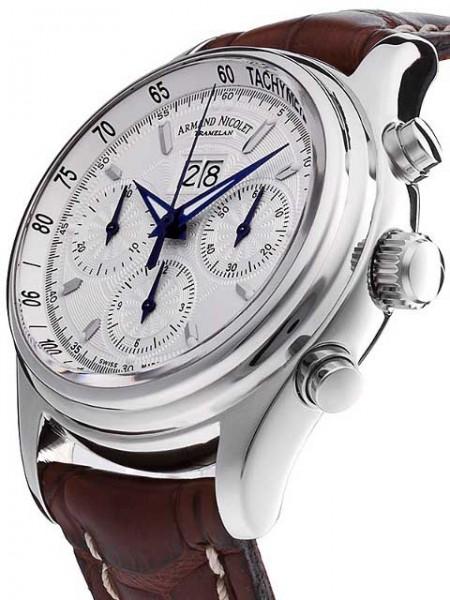 Armand Nicolet M02 Big Date Chronograph Automatic 9148A-AG-P914