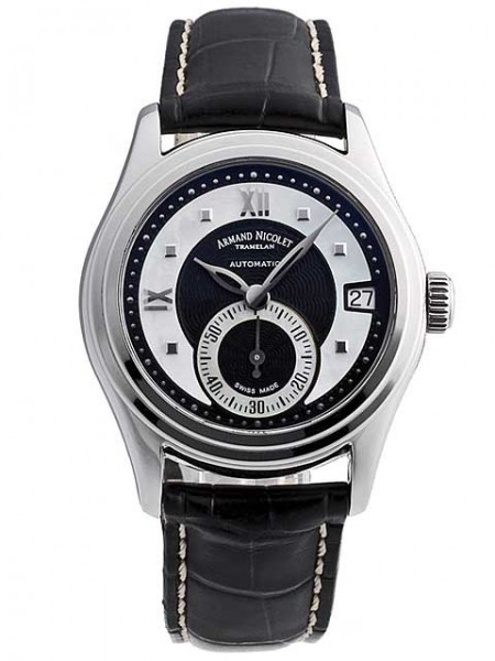 Armand Nicolet M03 Small Seconds & Date 9155A-NN-P915NR8