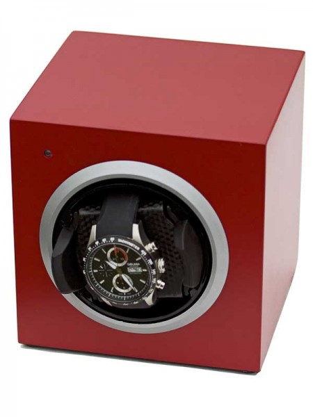 Watchwinder for 1 Watch UBO2039 - Rot