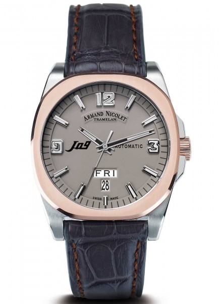 Armand Nicolet J09 Day&Date Automatic 8650A-GR-P965GS2