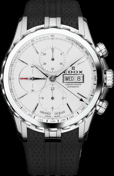 Edox Grand Ocean Automatic Chronograph 01113 3 AIN