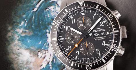 Cosmonautis Uhren von Fortis