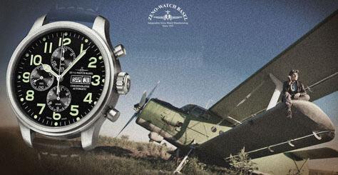 Uhren von Zeno Watch Basel